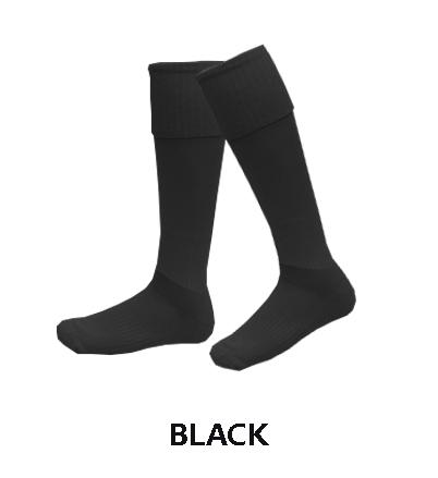 football-socks-black