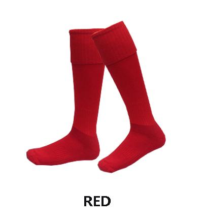 football-socks-red