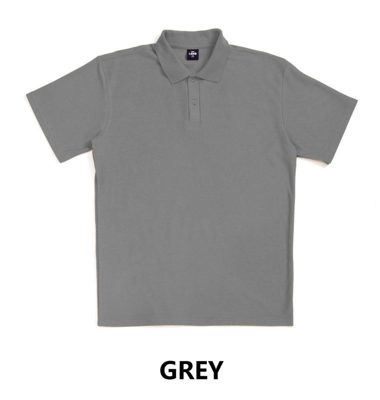 taxa-plain-polo-grey